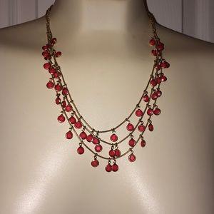 """Anne Klein layered necklace 16"""" + extender"""